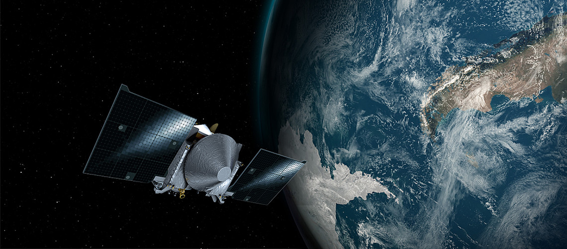 PTFE from Berghof goes into space with the OSIRIS-REx mission